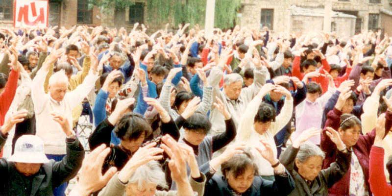 Práctica de Qi Gong en el Hospital sin medicamentos